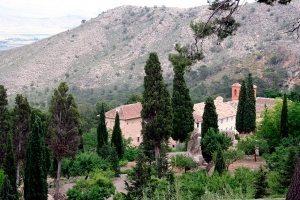 Espectacular imagen del Monasterio de Santa Ana del Monte. - Autor J. Pérez