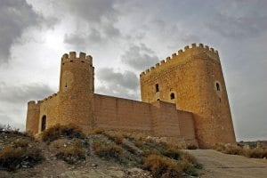 Castillo de Jumilla Autor Cayetano Herrero