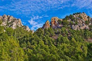 La imponente Sierra de La Pila, un lugar de gran encanto natural. - Autor Paulino Alacid.
