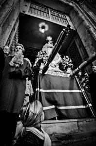 Fiestas de la Virgen, con gran tradición y fervor.- Autor Garrudo